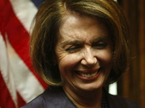 Pelosi Brags 'My Next Door Neighbor Owns the Nationals' in Bizarre Presser off Stage Moment
