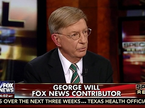 George Will: Obama 'Is Practicing Trickle-Down Economics'