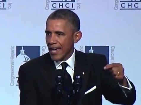 Obama Shouts Down Immigration Protesters: 'I Need You to Have My Back'