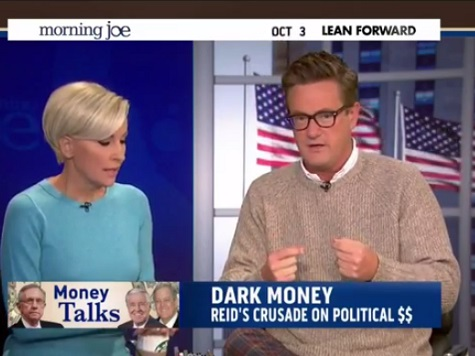 'Morning Joe' Mocks 'Sad,' 'Pathetic' Harry Reid for His Koch Brothers Hypocrisy