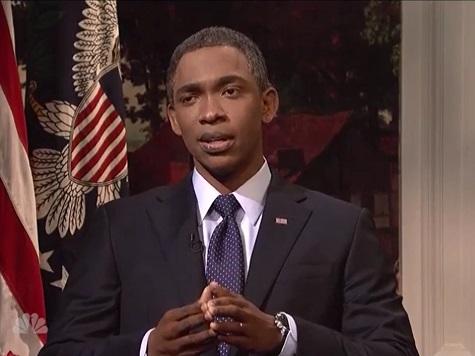 SNL Mocks Obama for ISIS, Secret Service