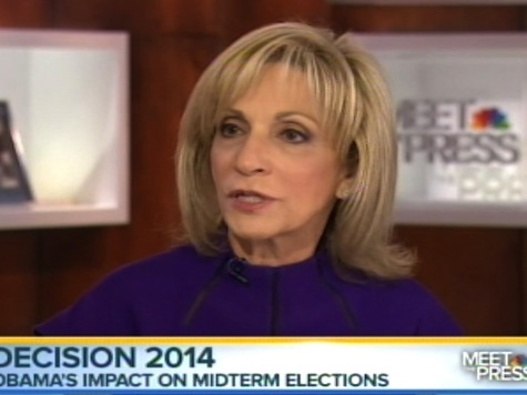 Andrea Mitchell Slams Obama's Economic Recovery 'We Have Two Americas'