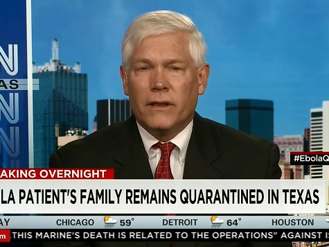 GOP Rep: 'Reasonable' to Ban All Travel from Ebola Nations to US