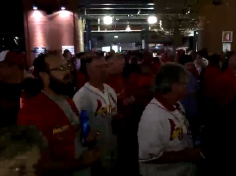 Watch: Cardinals Fans Taunt Ferguson Protesters