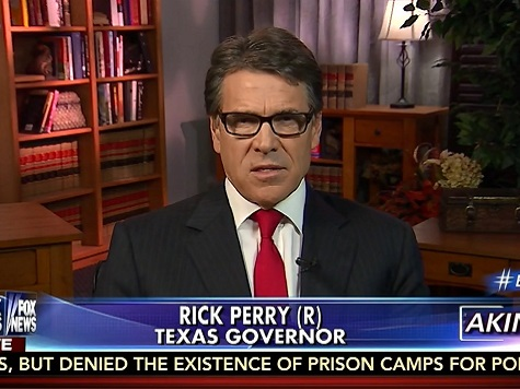 Perry: We Need a Go-To Person on Ebola