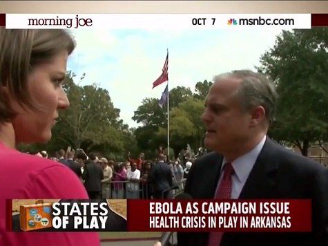 Watch: Mark Pryor Stumbles When Asked About Obama Ebola Response