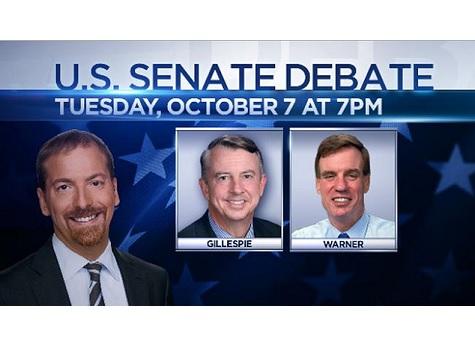 Watch: Livestream of VA Senatorial Debate