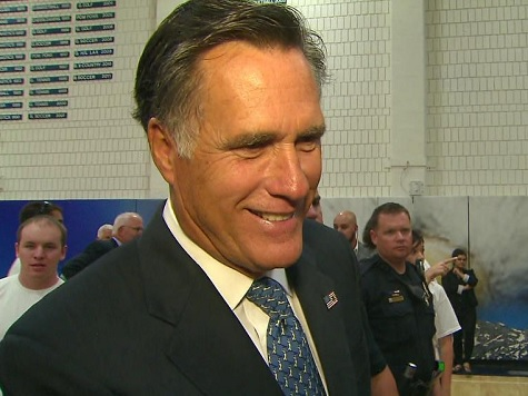 Romney on 2016: 'I'm Not Running. I'm Going to Be Helping Someone Else Who Is'