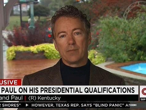 Rand: I Meet the Criteria to Be President