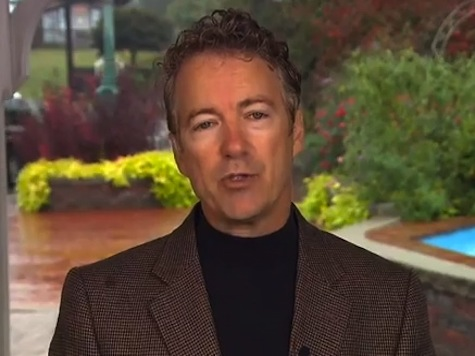 Rand Paul: We Shouldn't Be Arming Syrian Rebels