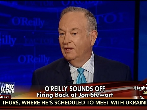 O'Reilly: Jon Stewart Doesn't Believe Everything He Says; Marketing to a 'Liberal Audience'