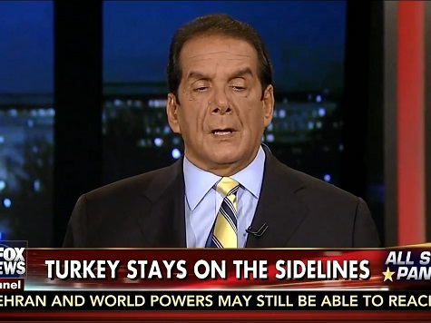 Krauthammer: Turkey Reluctance to Fight ISIS Tied to Obama Being 'Not Serious' About Mission