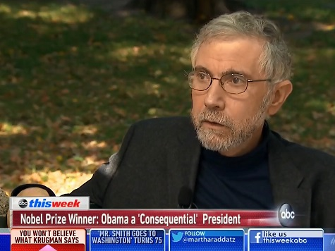 Krugman: Obama One of 'Most Consequential' Presidents in Modern History