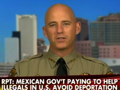 AZ Sheriff: Mexican Gov't Paying to Keep Illegals in USA