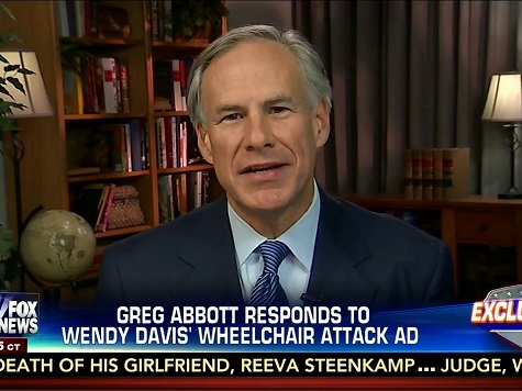 Abbott Responds to Wendy Davis: 'If She Wants to Attack a Guy in a Wheelchair, That's Her Prerogative'
