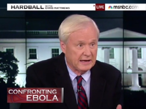 Matthews: US Gov't Ebola Response 'Reminds' Him of ObamaCare Rollout