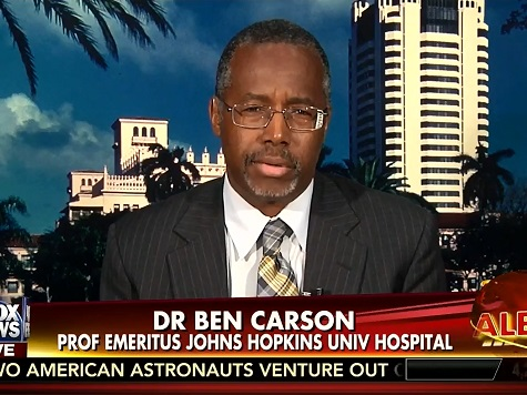 Carson: US Should Have Travel Ban for Ebola-Afflicted Countries