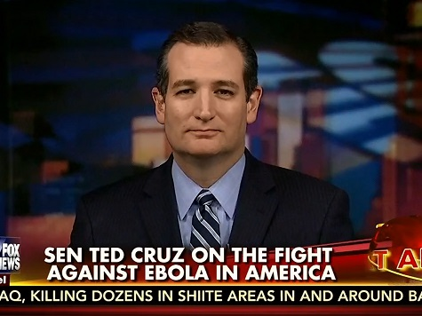 Cruz: Congress Needs to Reconvene to Pass Flight Ban