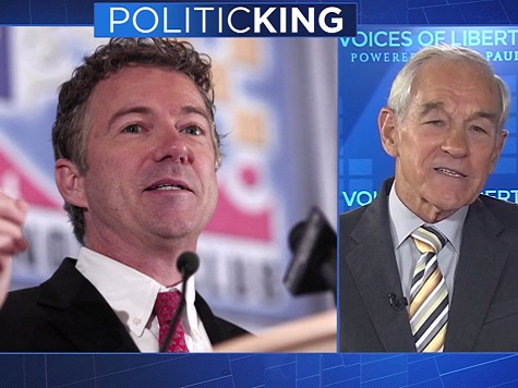 Ron Paul on Rand Presidential Run: 'I Think It's Great He's Doing It'