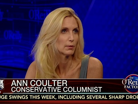 Coulter: If GOP Wants to Win, It Needs to Talk About Immigration