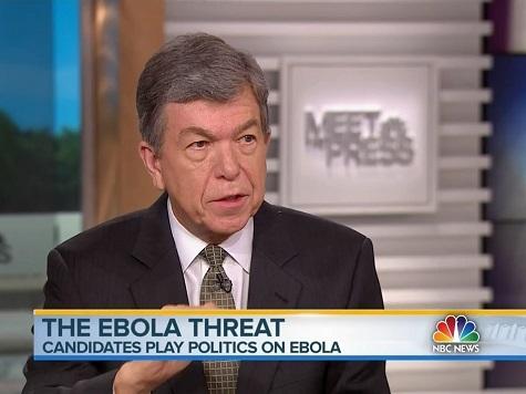 GOP Senator: Ebola Fear Based on 'Long List' of Gov't Failures