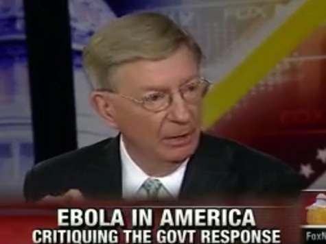 George Will Cites Report that Ebola Transmittable by Air