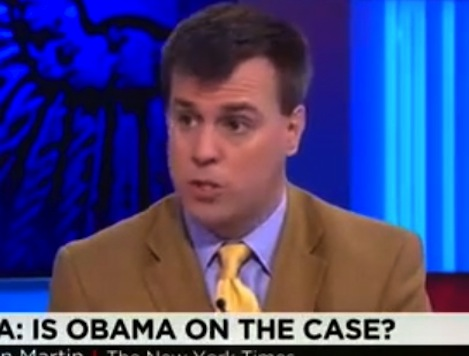 NYT's Jonathan Martin: Ebola Response Another Example of Obama Not Running Competent Govt
