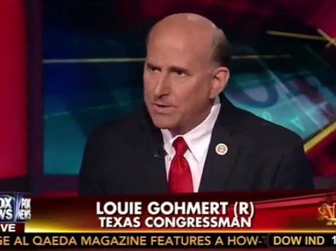 Gohmert Predicts US Will 'Bring People In' from Ebola Hot Zone