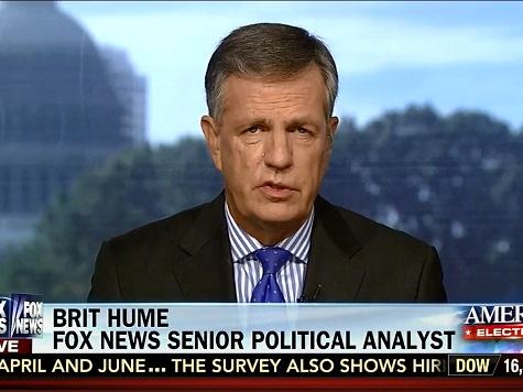 Brit Hume: MD Event 'Confirms' Obama 'Rock Star' Image Is No More
