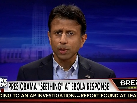 Jindal: 'I Guarantee You' Obama Will Blame Ebola on the GOP