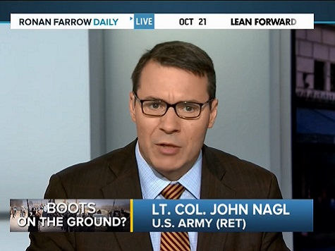 US COIN Co-Author: Increase Forces in Iraq By Factor of 10