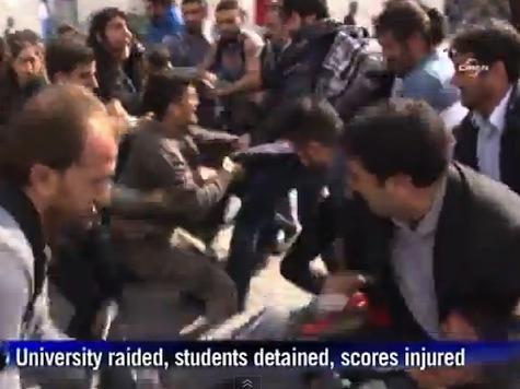 Watch: Istanbul University Students Break Out in Violent Brawls Over ISIS