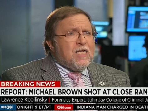 Forensics Expert: Autopsy Shows Mike Brown's Hands Not Raised
