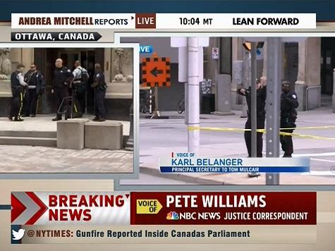 Report: Canada Raised Terror Threat Level 'A Few Days Ago'