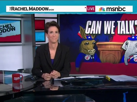 Maddow Hammers Hagan for Skipping NC Senatorial Debate