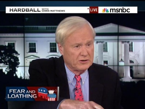 Matthews on Dems Distance from President: 'It's Like Obama Has Ebola'
