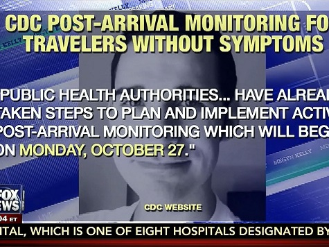 'Active Post-Arrival Monitoring' For Ebola Doctors Hasn't Taken Effect