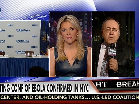 Watch: Megyn Kelly Rails Against Infected NYC Ebola Doc