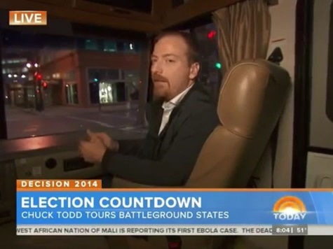 Chuck Todd: Ebola, ISIS Staying in the News 'Hurts Democrats'