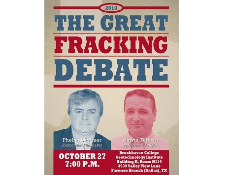 Watch: Debate Livestream Between FrackNation's Phelim McAleer, Anti-Fracking Activist Calvin Tillman