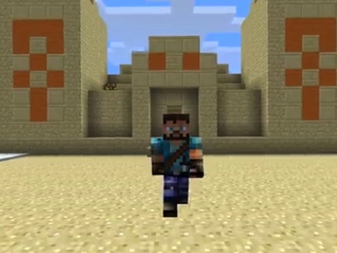 Chuck Todd Bemoans 'Minecraft' Midterms — Political Ads in Children's Games