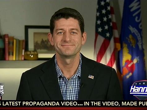 Ryan Vows Lawsuit, Purse Power Against Executive Amnesty