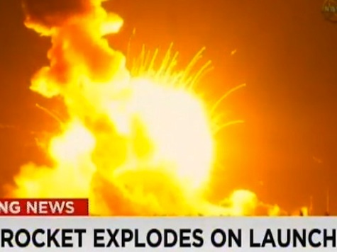 Watch: Shocking Video of NASA Rocket Exploding at Launch