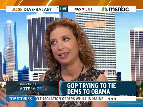 Wasserman Schultz: Dems Will Pick Up More Governorships Than Lose Senate Seats