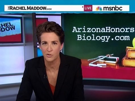 MSNBC Launches Website for Controversial AZ Biology Page
