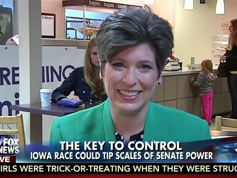 Ernst: 'Very Offended' by Harkin's Remarks