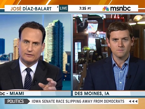 MSNBC: Harkin Comments 'Terrible,' 'Huge Gift' to Ernst
