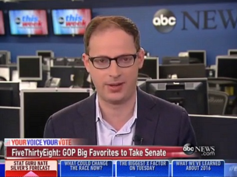 Nate Silver: 74 Percent Chance GOP Will Take Senate