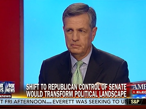 Hume: If Republicans Don't Win the Senate, Expect a 'Bloody' GOP Civil War