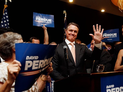 Perdue: Immigration 'A Top Issue' In My Senate Win